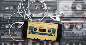 3 updated reasons for using odd numbered lists in your blog post titles - image of cassette on iPhone. Photo by Vadim ZH on Reshot