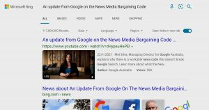 But it's not Google: Will Bing cover the gap if and when we lost THAT search engine?
